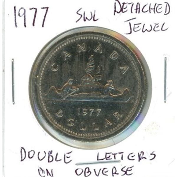 1977 Canadian One Dollar Coin