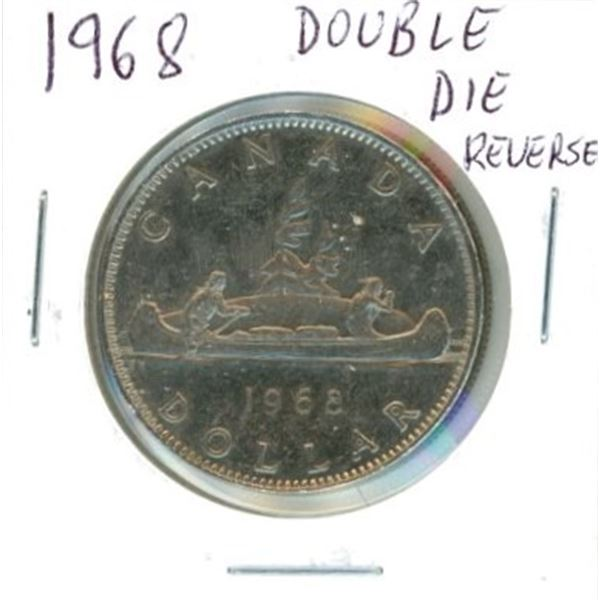 1968 Canadian One Dollar Coin
