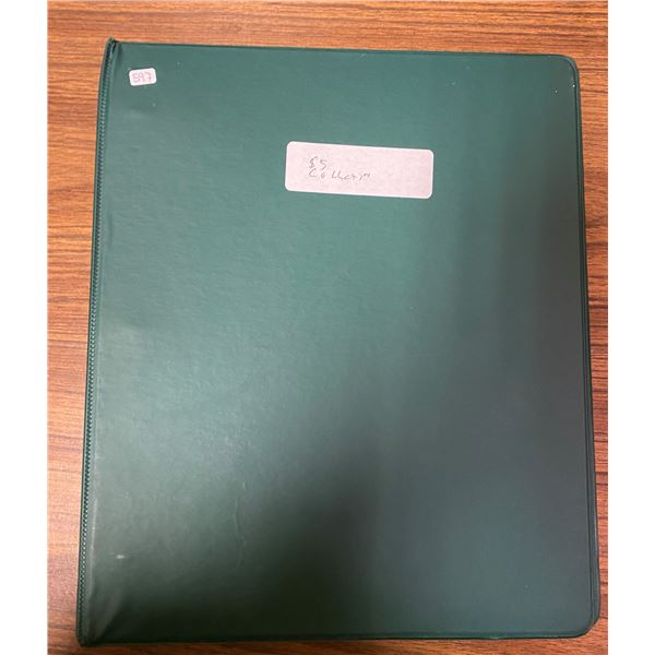 Binder Of 5 Canadian Five Dollar Collection 1937-2002