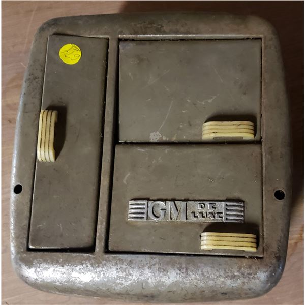 GM Deluxe Heater General Motors vintage auto parts
