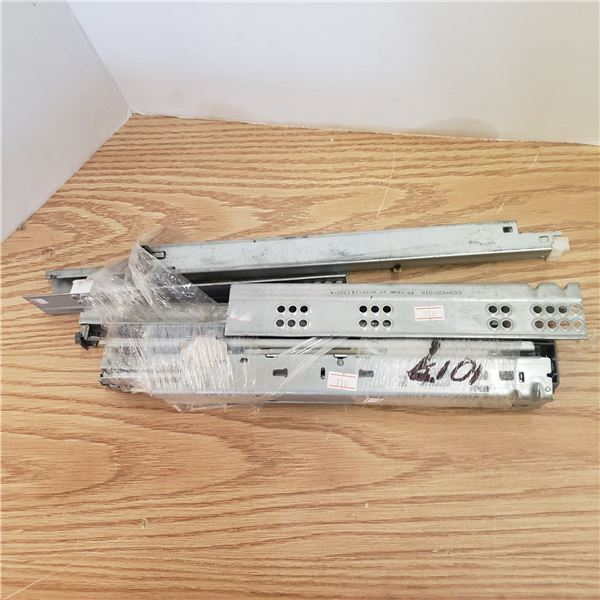 "two  sets of 12"" full extension drawer slides"