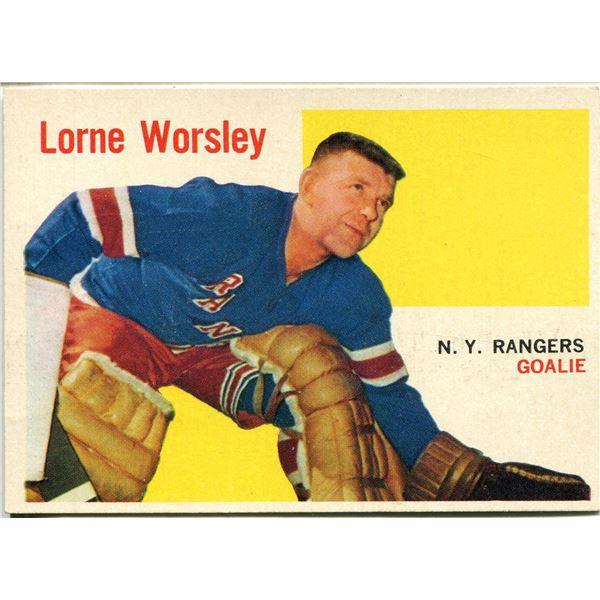1960/61 TOPPS CARD LORNE WORSLEY