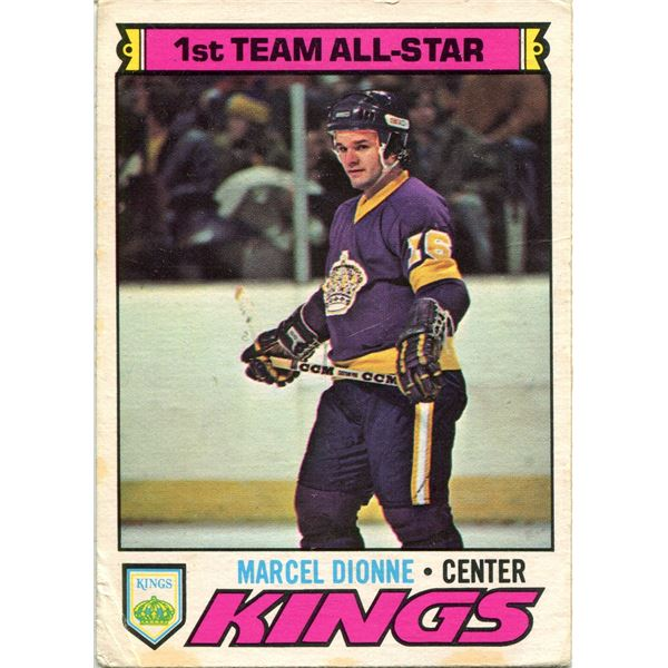 1977/78 OPC CARD MARCEL DIONNE -1ST TEAM ALL STAR
