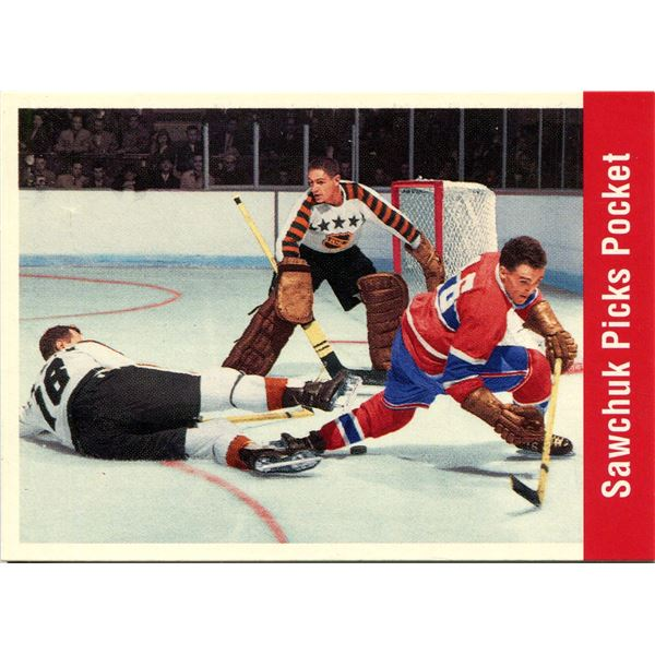 1994 PARKHURST CARD TERRY SAWCHUK -PICKS POCKET