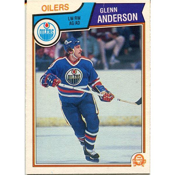 1983/84 OPC CARD GLEN ANDERSON