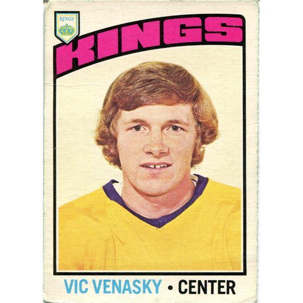 1976/77 OPC CARD VIC VENASKY