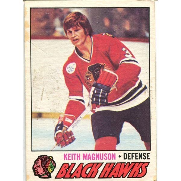 1977/78 TOPPS OPC CARD KEITH MAGNUSON