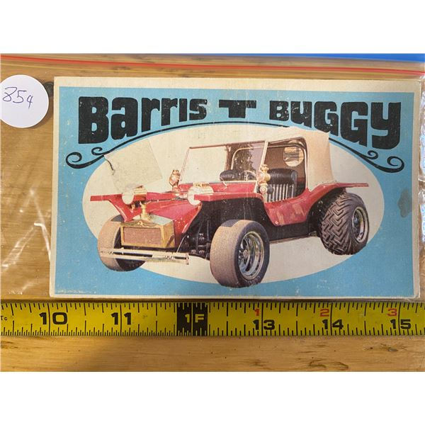 1970 Topps Way Out Wheels #9 of 36 BARRIS T BUGGY 'Takes Two Game TV Car'