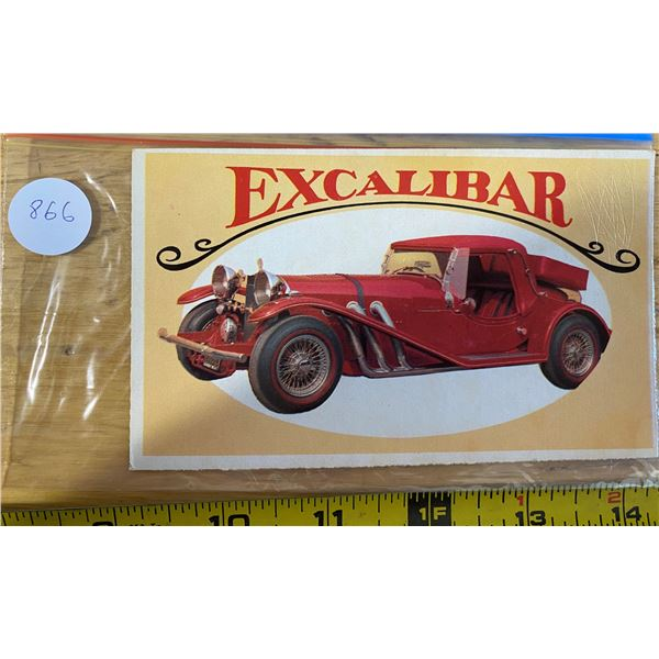 1970 Topps Way Out Wheels #30 of 36 EXCALIBUR  Sport Road Car