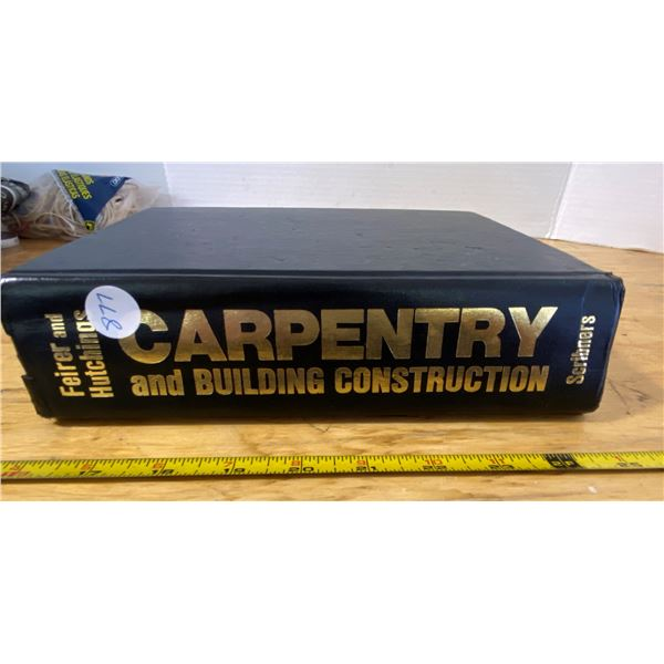 Carpentry and Construction How to Book Feirer and Hutchings