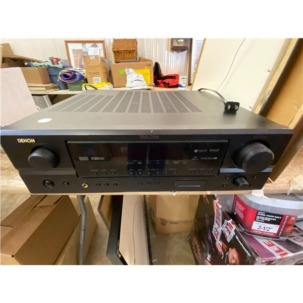 Denon AVR -1707 Receiver  Home Theater Receiver Surround sound.  Powers up, at best needs a fuse and