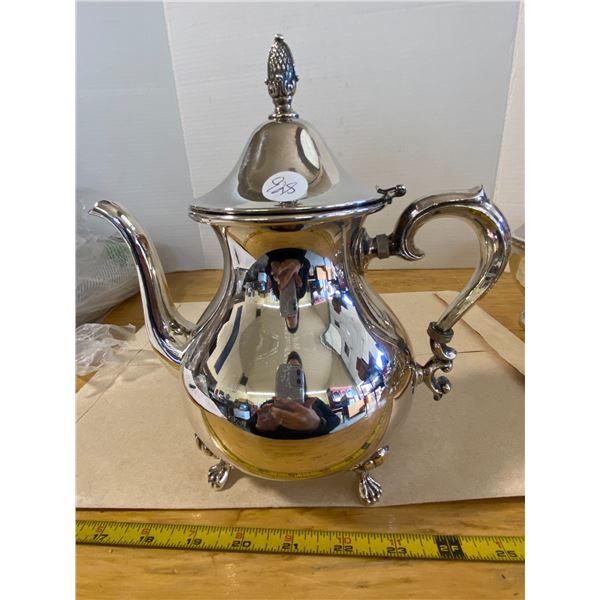 Tea Pot Silver Plated S.P. Brass
