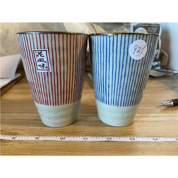 2 Porcelain Mugs