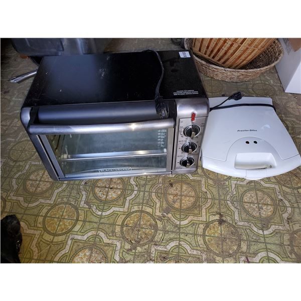 TOASTER OVEN & WAFFLE MAKER