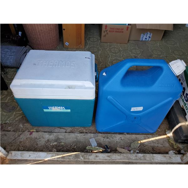 THERMOS COOLER & WATER JUG