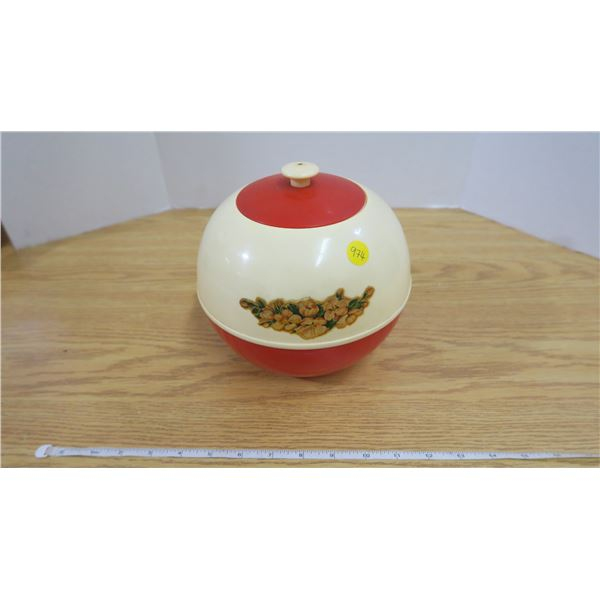 Rare Vintage Lidded Container