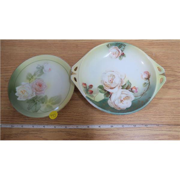 2 German R&S Decorative Plates