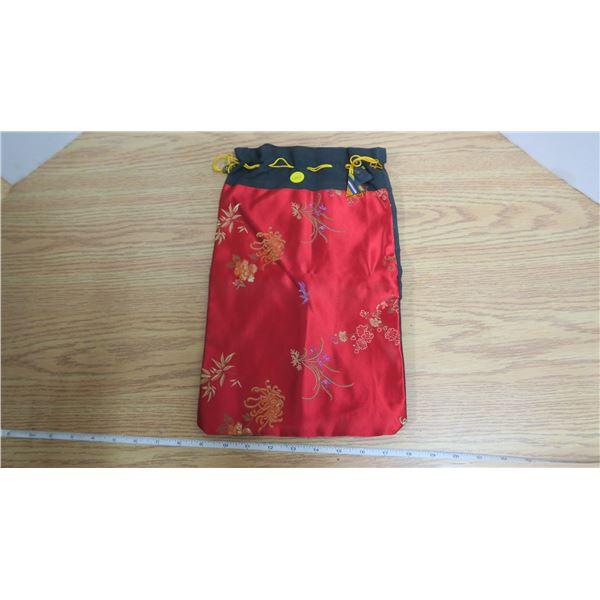 Vintage Japanese Silk Bag