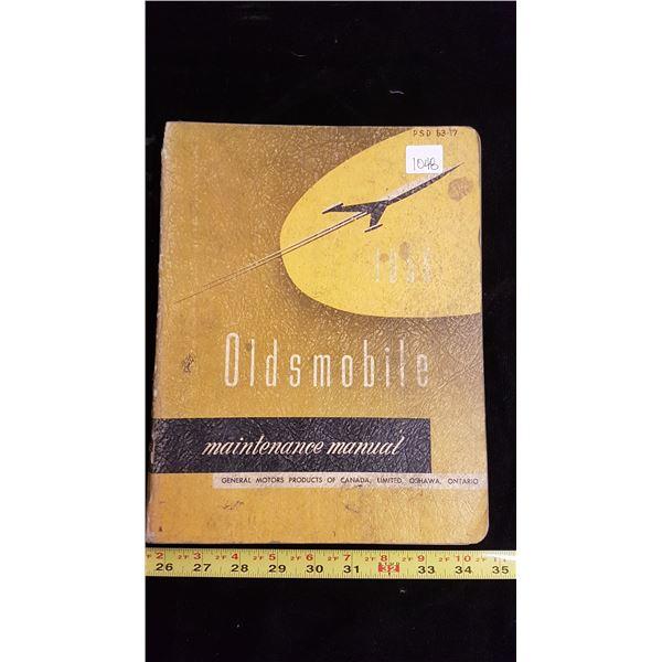 1956 Oldsmobile car manual