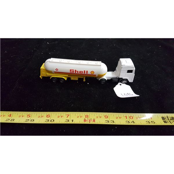 Shell die cast 2 piece tanker truck