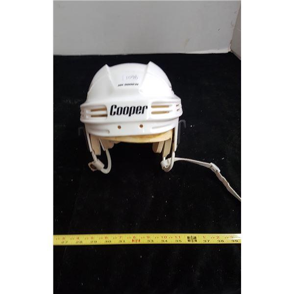Vintage cooper hockey helmet