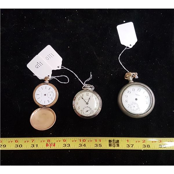 Pocket watches for parts or repair