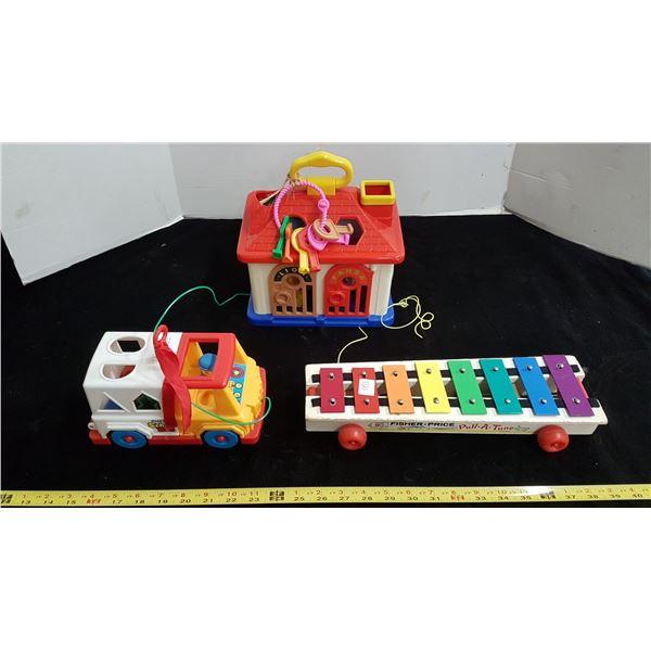 Toys, Fisher Price & Redbox