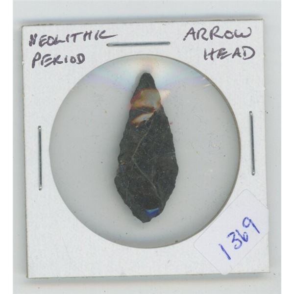 Neolithic Period Arrow Head.