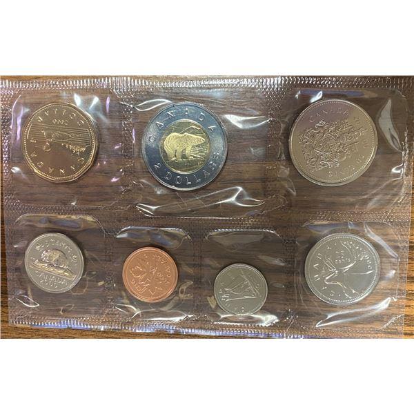 2000W Proof Like Set. 7-coin set minted in Winnipeg.