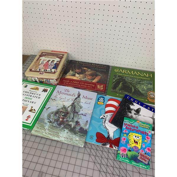 LOT OF CHILDRENS BOOKS LIKE NEW