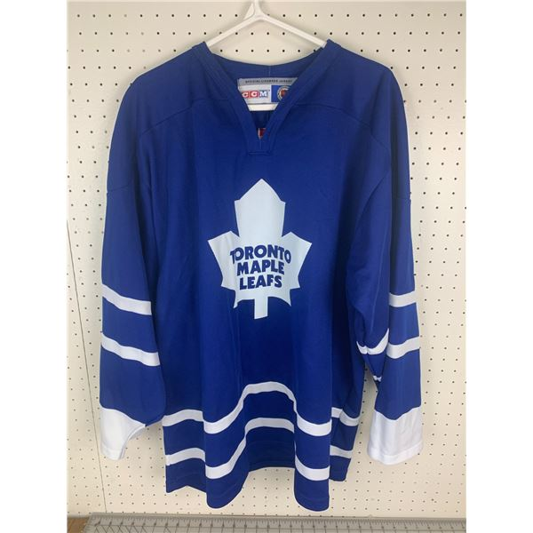OFFICIAL LICENSED NHL TORONTO MAPLE LEAFS JERSEY SIZE XL