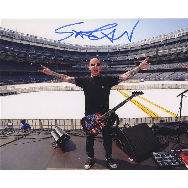 "Scott Ian signed ""Anthrax"" photo"