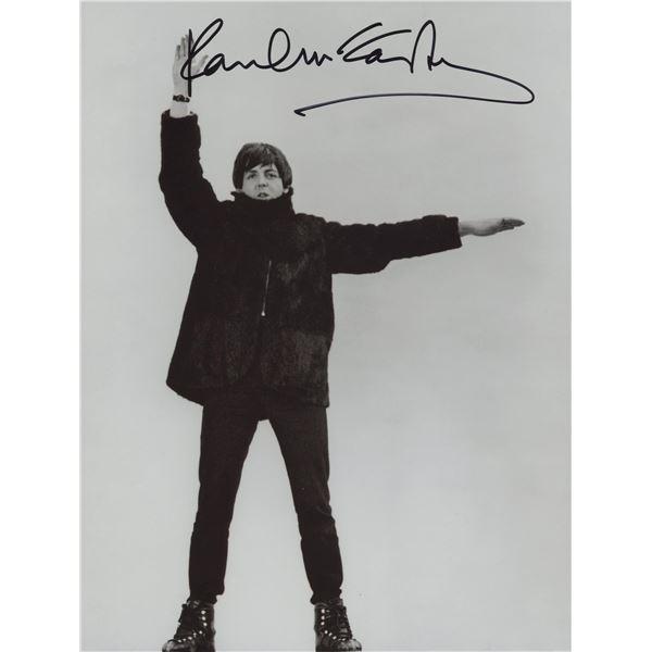 Paul McCartney signed photo