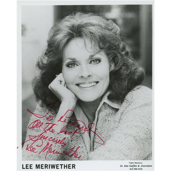 Lee Meriwether signed photo