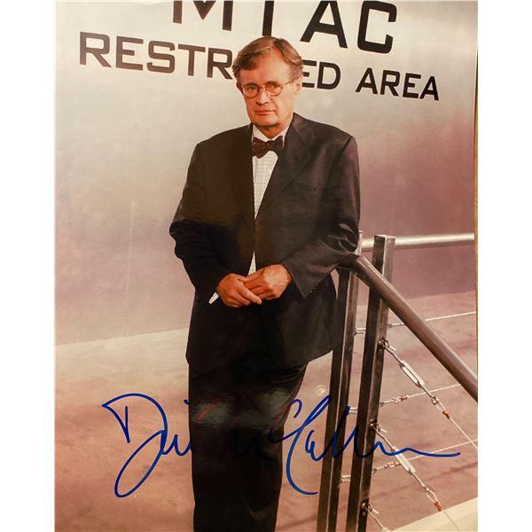 NCIS David McCallum signed photo