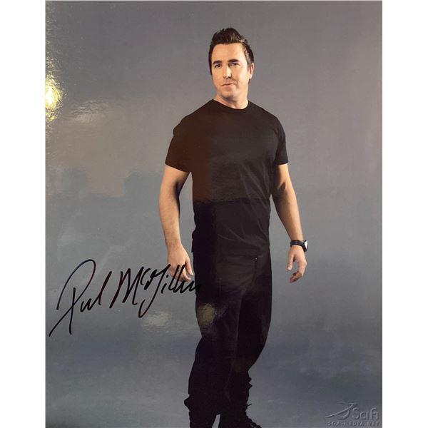 Paul McGillion signed photo