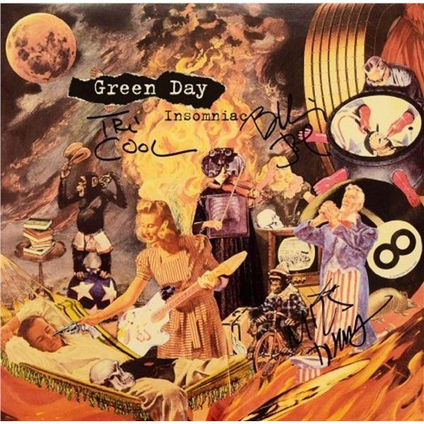 """Green Day signed """"Insomniac"""" album"""