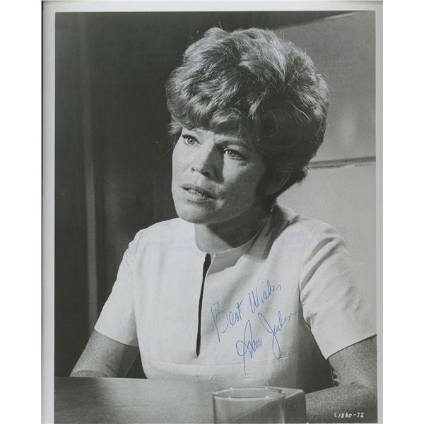 "Anne Jackson signed ""False Witness"" movie photo"
