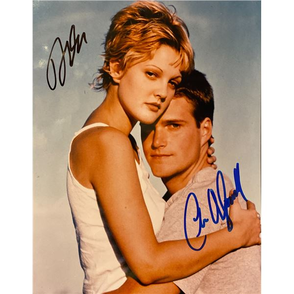 Mad Love Drew Barrymore and Chris O'Donnell signed movie photo