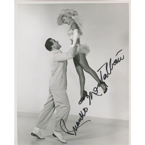 """Ricardo Montalbán signed """"Two Weeks With Love"""" movie photo"""