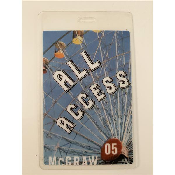 Tim McGraw 2005 All Access Pass