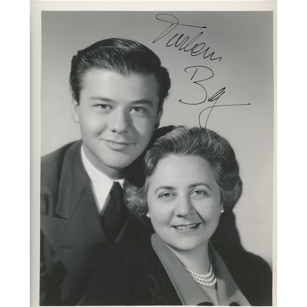 Turhan Bey signed photo