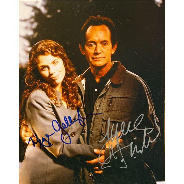 Millennium Lance Henrikson and Megan Gallagher signed photo