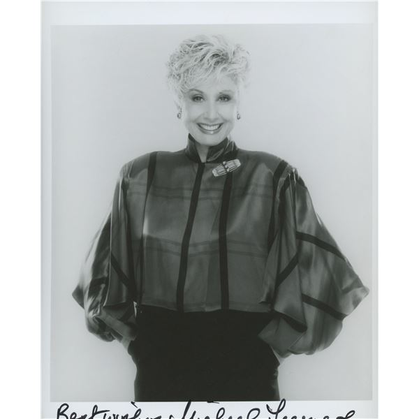 Michael Learned signed photo