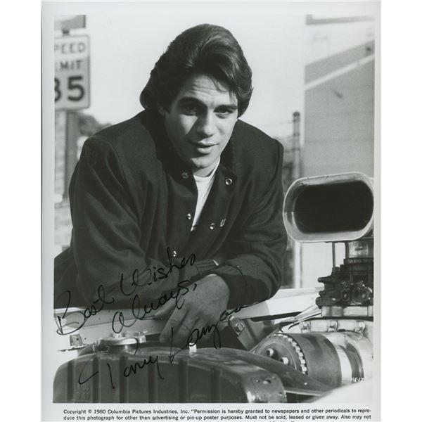 """Tony Danza signed """"The Hollywood Knights"""" movie photo"""