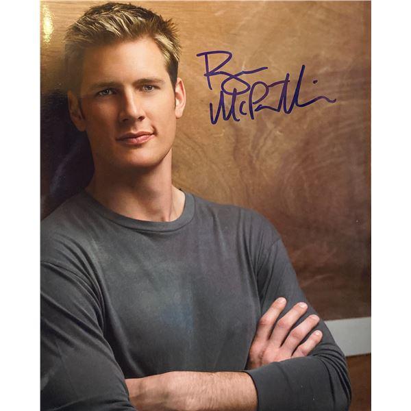 Ryan McPartlin signed photo