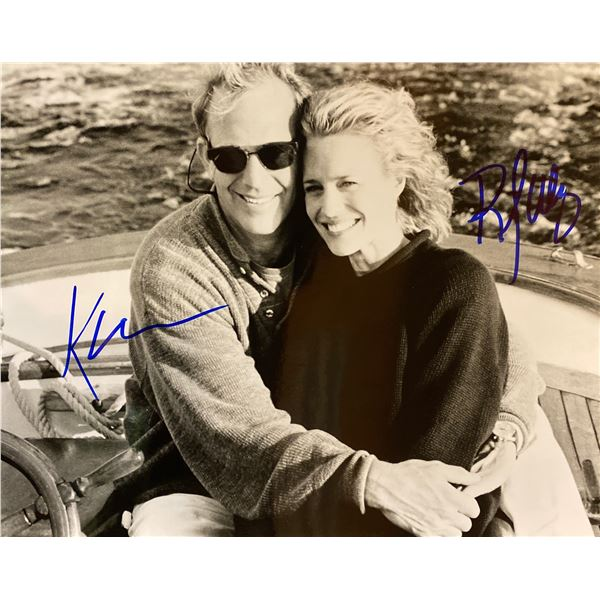 Message in a Bottle Kevin Costner and Robin Wright signed photo