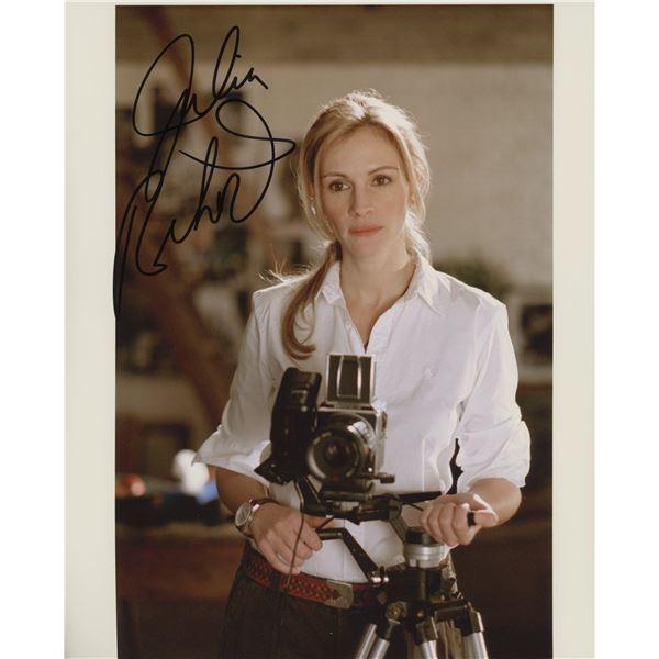 Julia Roberts signed movie photo