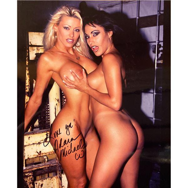Adara Michaels signed photo