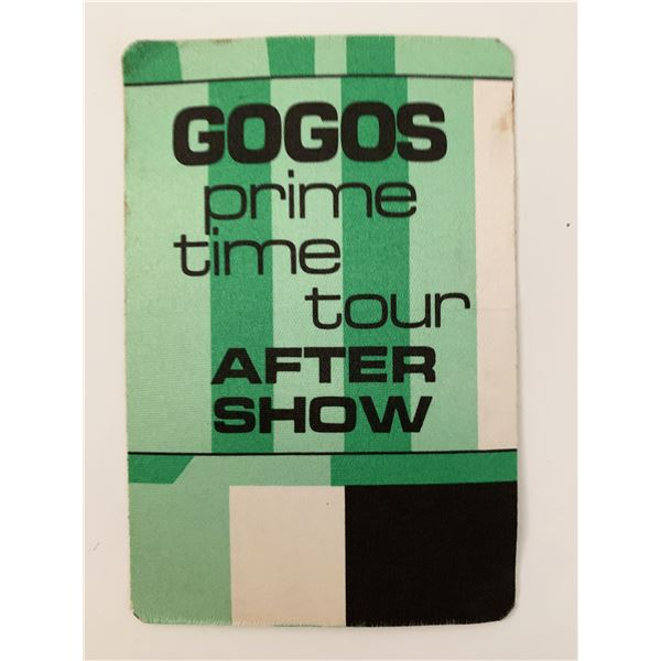 The Go-Go's Prime Time Tour After Show Pass